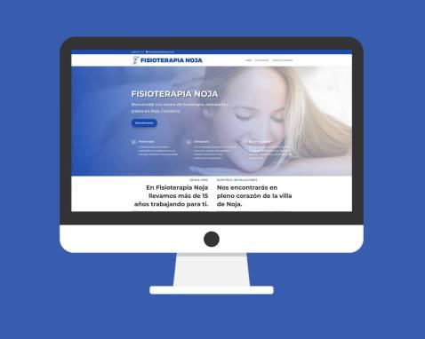 Página Web Fisioterapia Noja