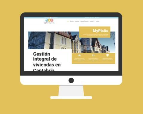 Página Web MyPisito Cantabria