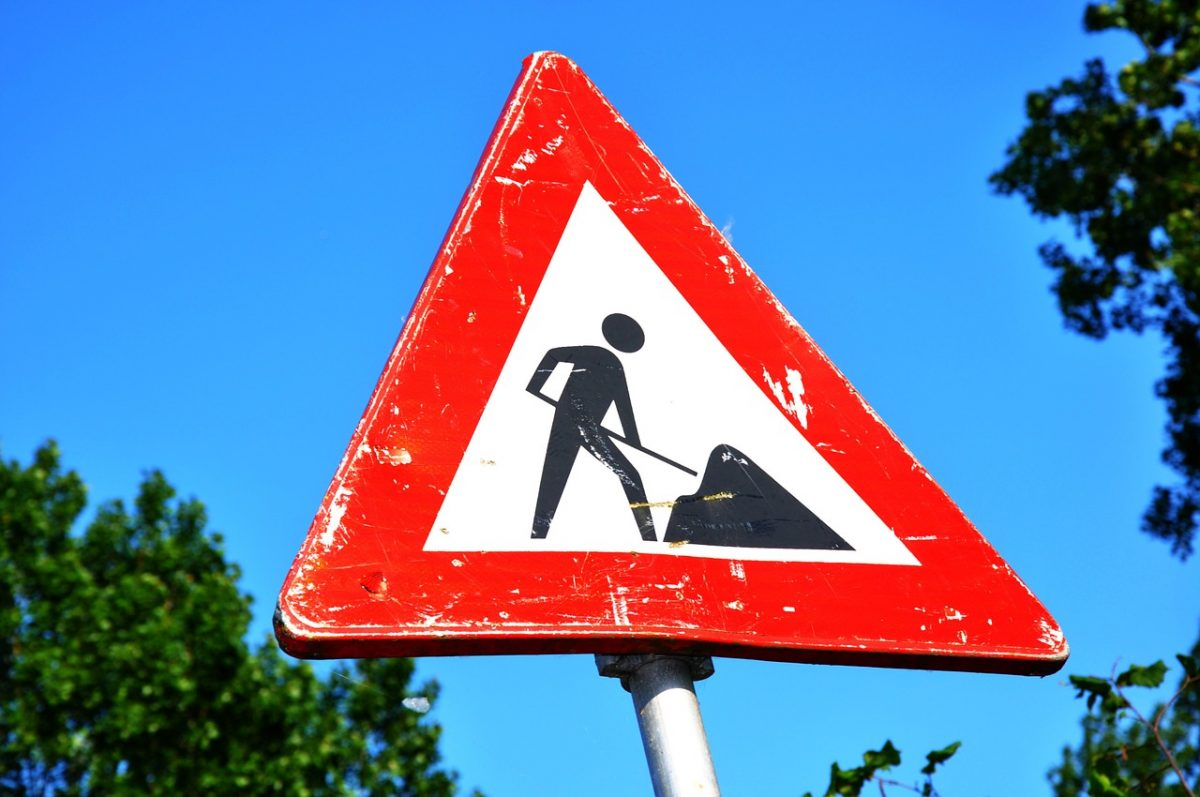 Roadworks and interviews