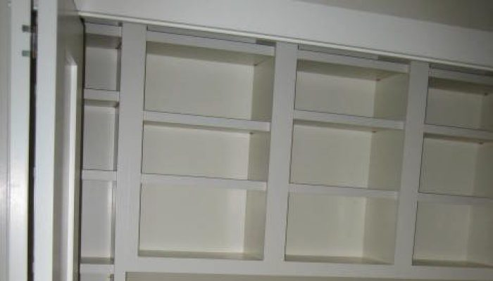 Laundry cabinetry, Maine custom closets