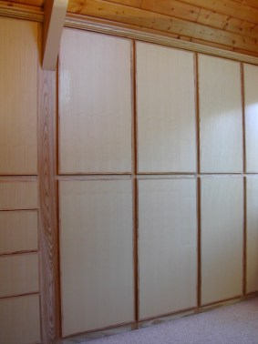 Custom Closet cabinetry by Blue Spruce Joinery
