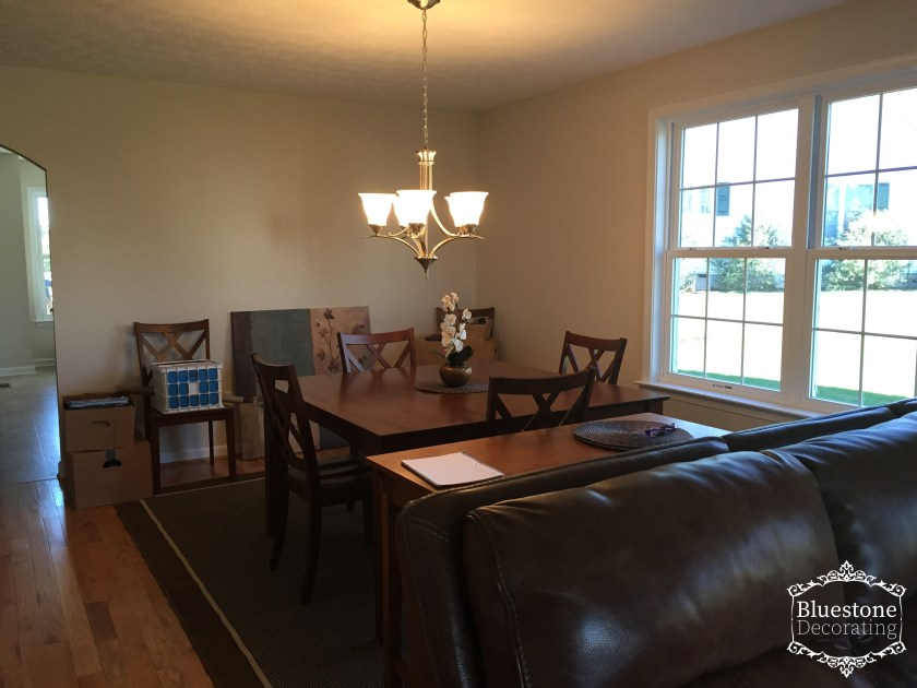 Meadowpoint, Harrisonburg Virginia before Interior Decorating project by Crystal Ortiz
