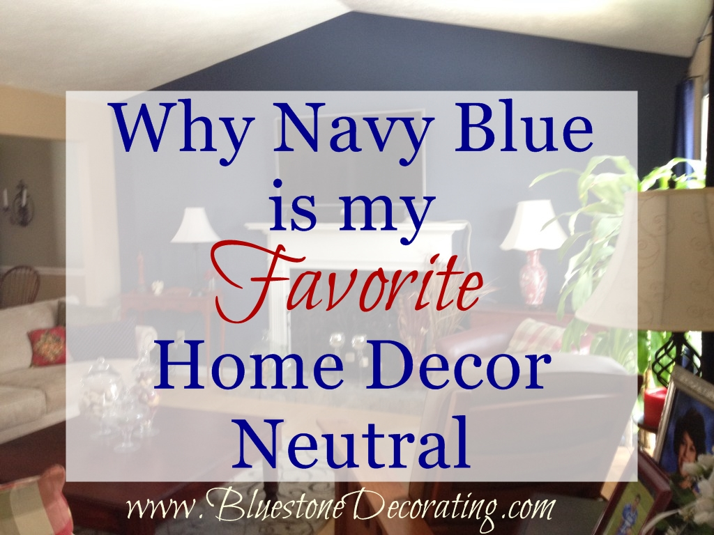 Why Navy Blue is the best neutral color for interior decorating