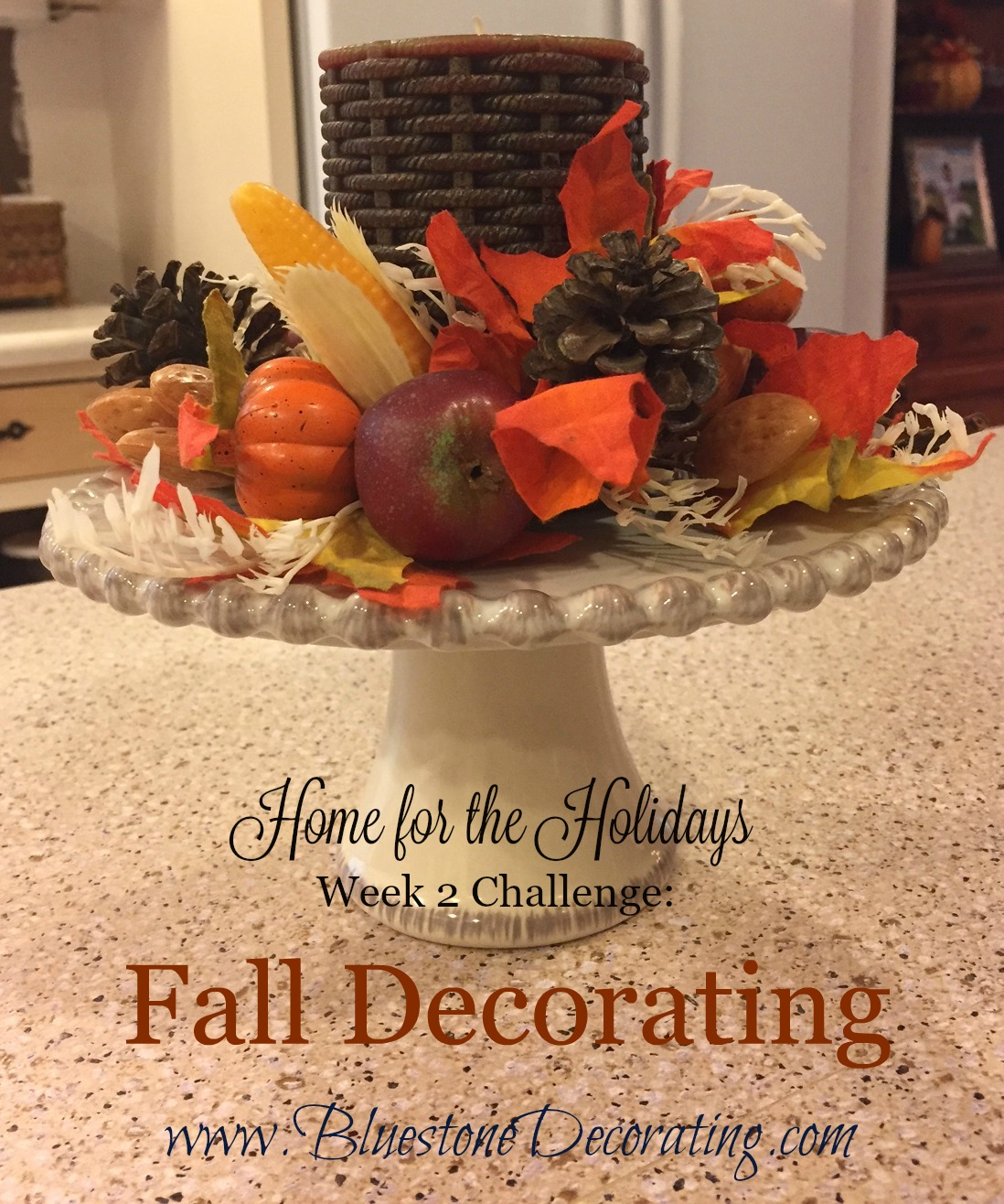 """Bluestone Decorating's """"Home for the Holidays"""" Challenge Week 2"""