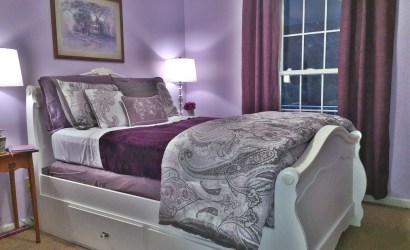 Lavender Guest Bedroom in Penn Laird, Virginia