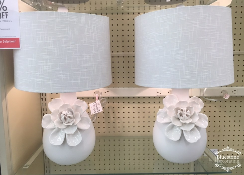 Spotted these lamps that include lampshades at Hobby Lobby. LOVE!