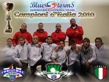 Blue Storms : Campioni FIVEMAN U15 2010