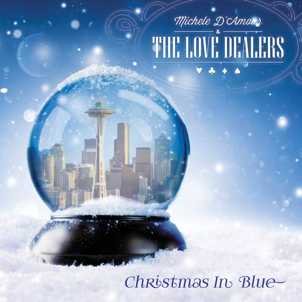 +Michelle D'Amour and The Love Dealers - Christmas In Blue
