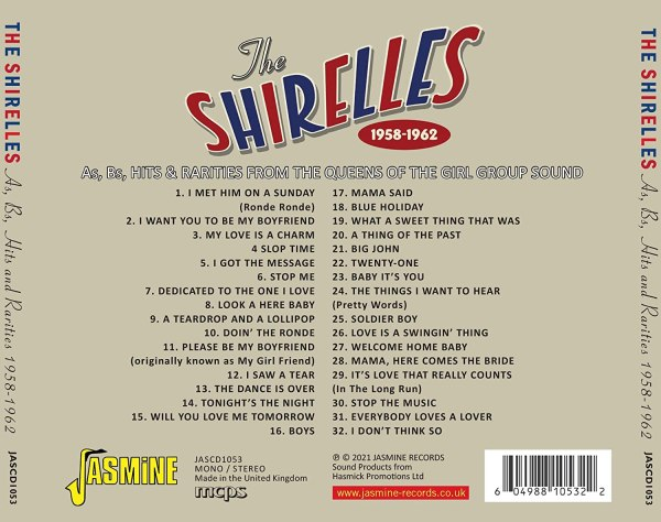 The Shirelles - As, Bs, Hits And Rarities From The Queens Of The Girl Group Sounds 1958-1962 - back