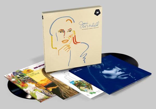 Joni Mitchell - The Reprise Albums (1968-1971)LP