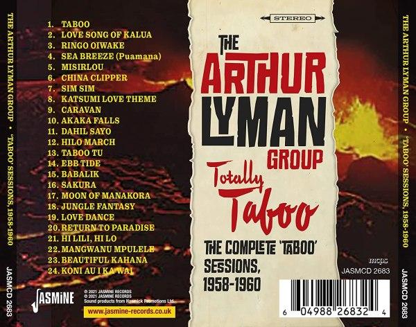 The Arthur Lyman Group - Totally Taboo - back