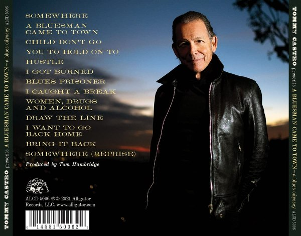 Tommy Castro - Tommy Castro Presents A Bluesman Came To Town - back