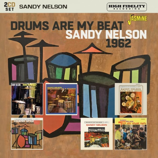 Sandy Nelson - Drums Are My Beat 1962