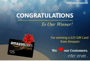 interserver-gift cards-amazon-winner  interserver coupon promo code