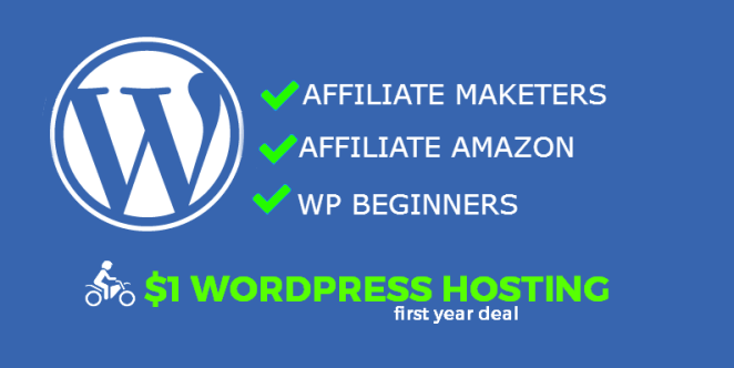 $1 WordPress Hosting
