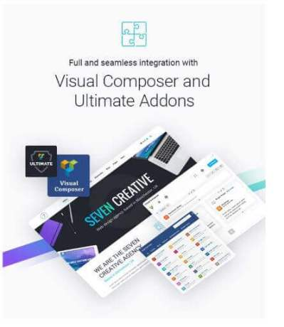 visual composer the seven theme