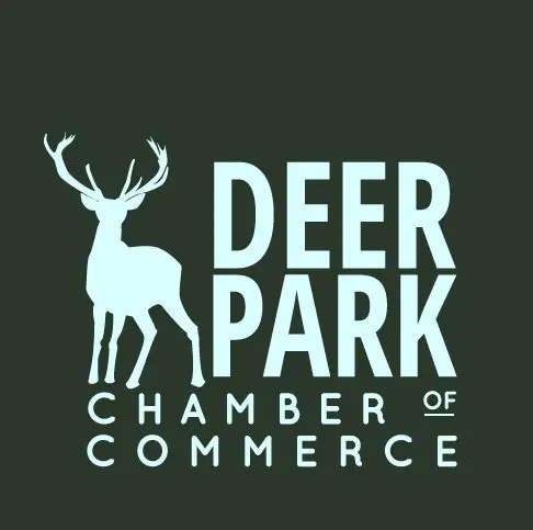 Deer-park-chamber-of-commerce-green-logo-square-designed by Blue Tiger Studio