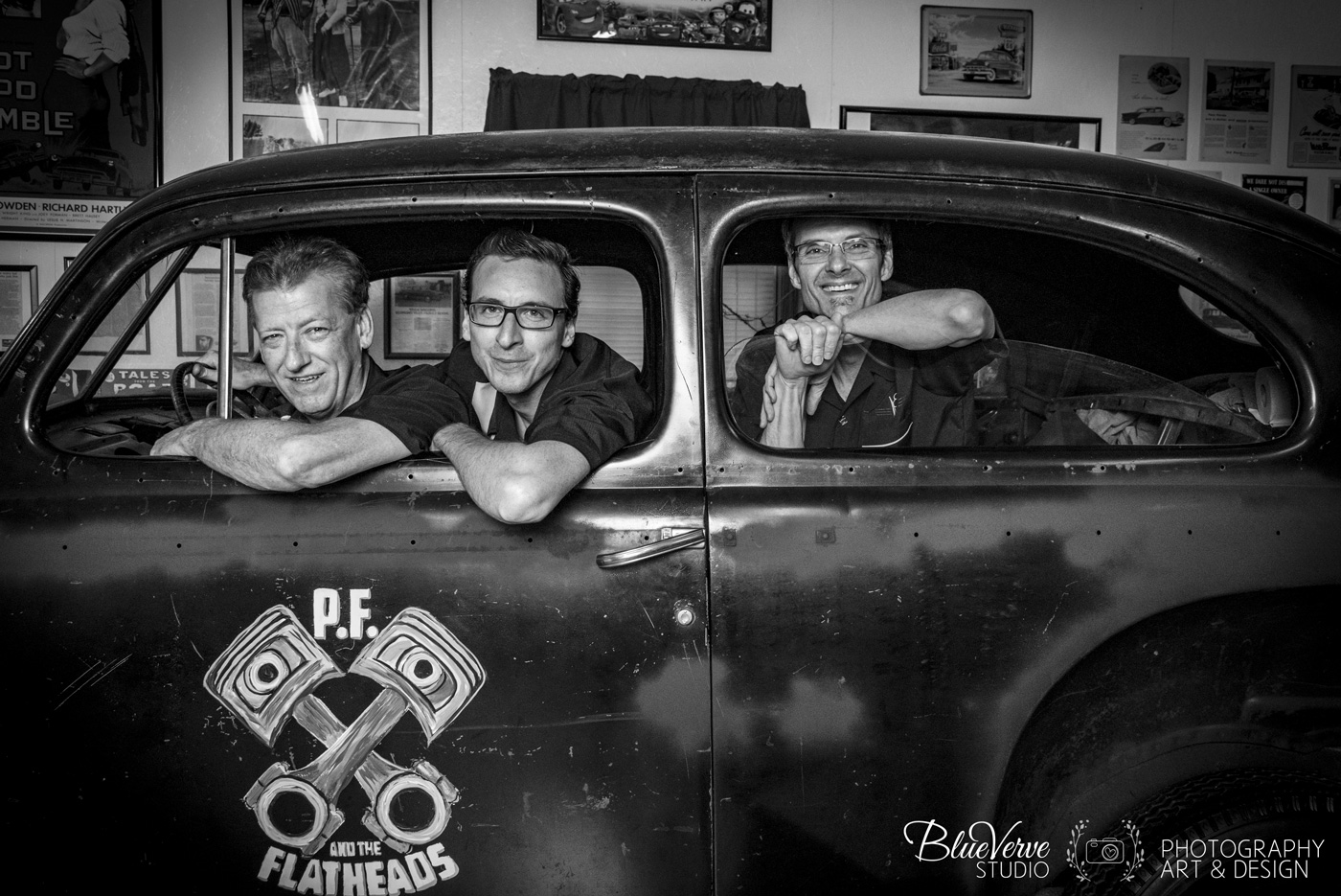 PF and the Flatheads Band Photography