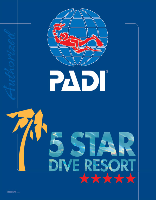 PADI FIVE STAR dive resort
