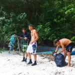 Beach Clean Up Koh Phi Phi Thailand