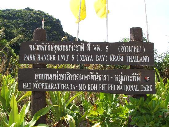 National park fees phi phi