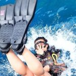backroll advanced open water, diving courses phi phi