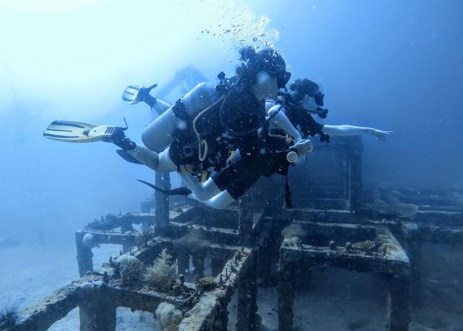 viking koh phi ดำน้ำเกาะพีพี phi artifical reef