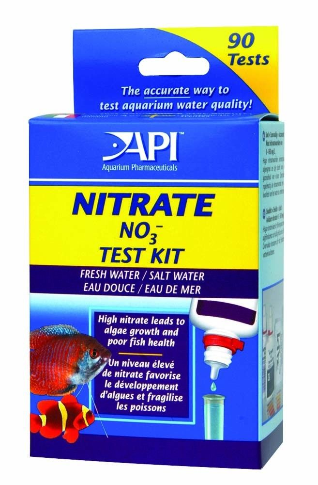 api nitrate no3 fresh salt water aquarium test kit 90 count