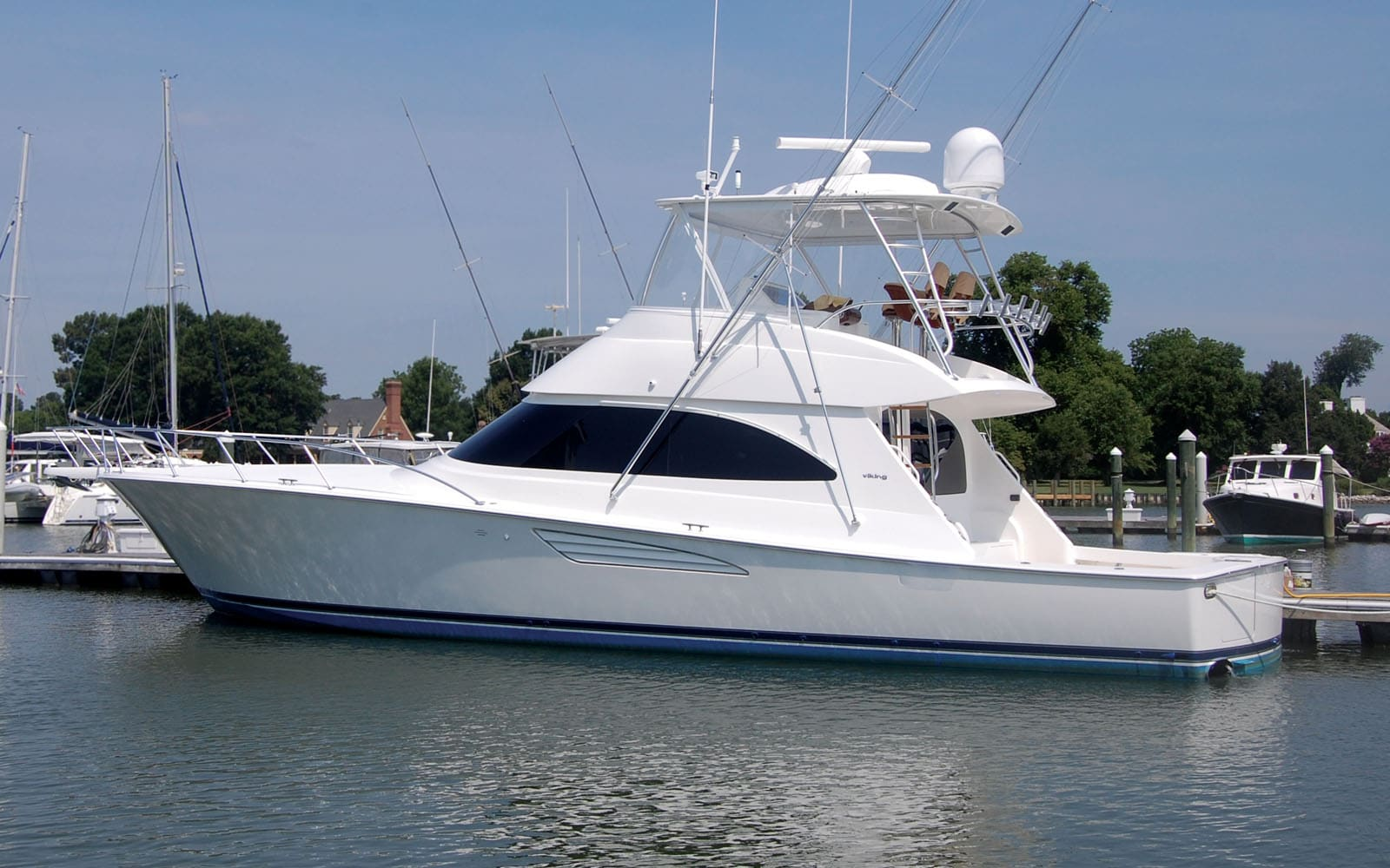 The Finest Sportfishing Boats On Display During White Marlin Open Bluewater Yacht Sales
