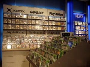 Videogameretaildisplay