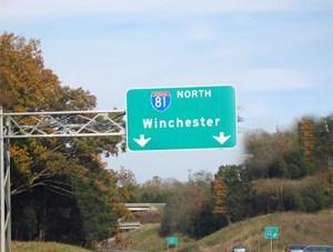 HWY 81N Winchester