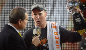 Although his performance was not spectacular, Manning earned a second Super Bowl ring and became the first quarterback to reach 200 career wins.