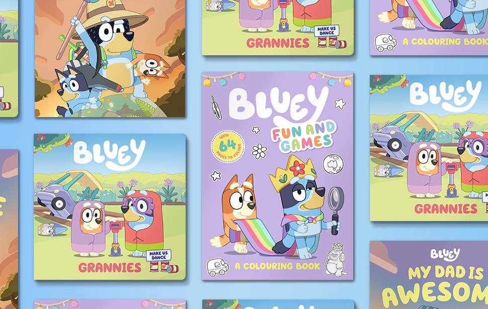 New Bluey Books Toys Clothes Bluey Official Website