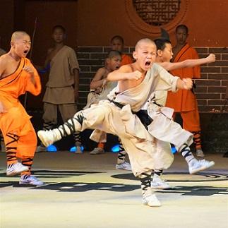 Kungfu demonstration