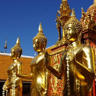 Buddhas on Doi Suthep