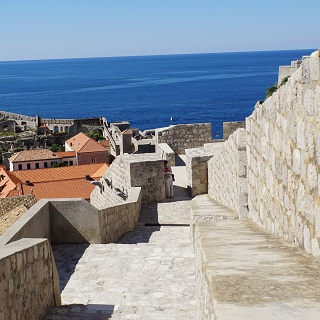 Dubrovnik's walls are an engineering feat