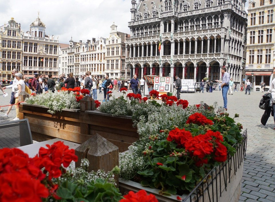 The Grand Place in Brussels has historically been a centre of trade in Europe, which Britain has just severed itself from
