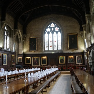 Balliol College - slightly nicer than my res cafeteria!