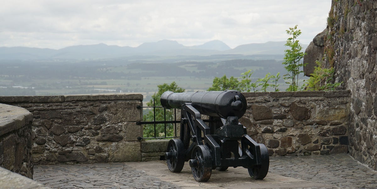 Canon at Stirling Castle