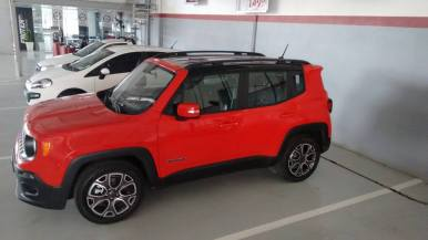 Jeep Renegade Teto black Piano