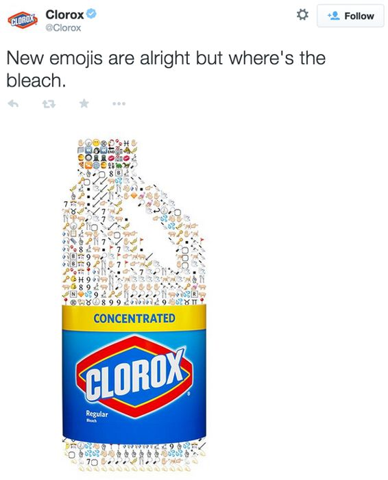 "Clorox Tries to ""Bleach"" Away Emoji Tweet Failure – Blu Lotus"