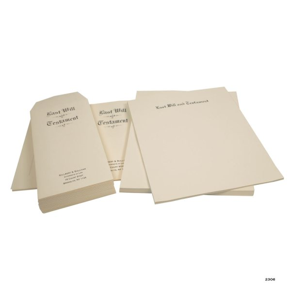 Save with Will Stationery Kit for 25 Wills Will Stationery Kit Archival Quality Paper