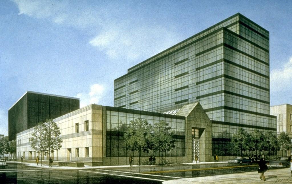 Atlantic City Office Building sketch