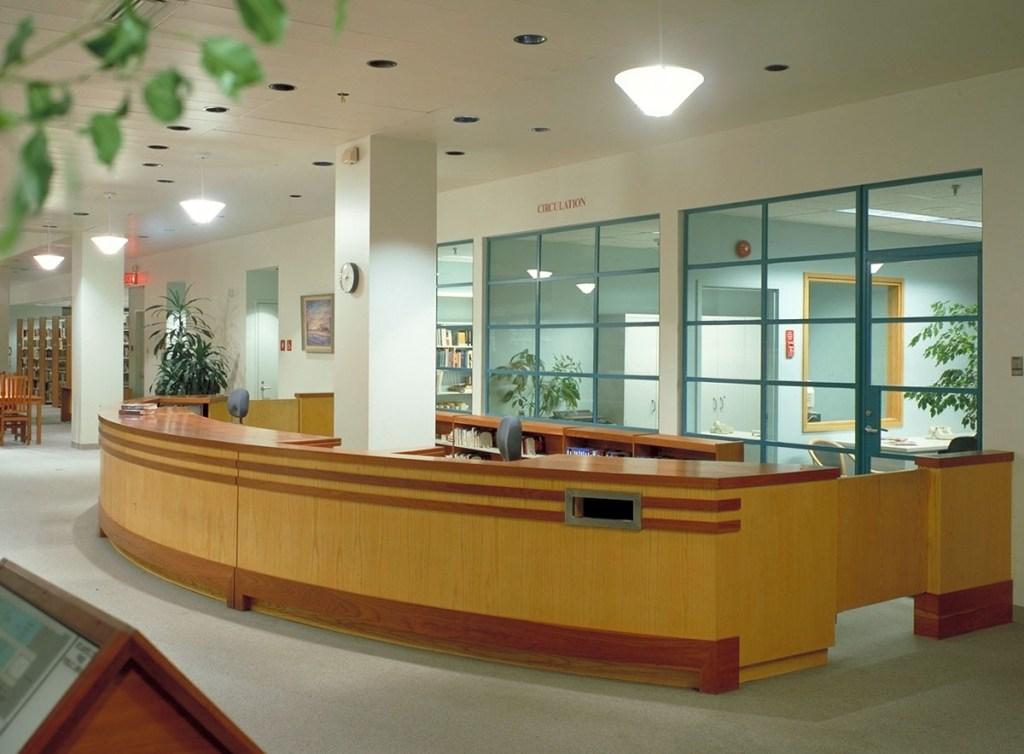 Atlantic City Public Library interior