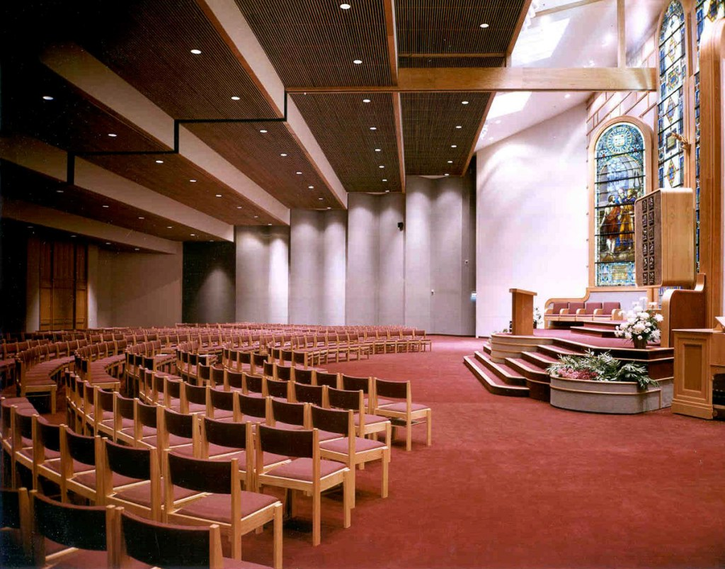 Beth Israel interior view