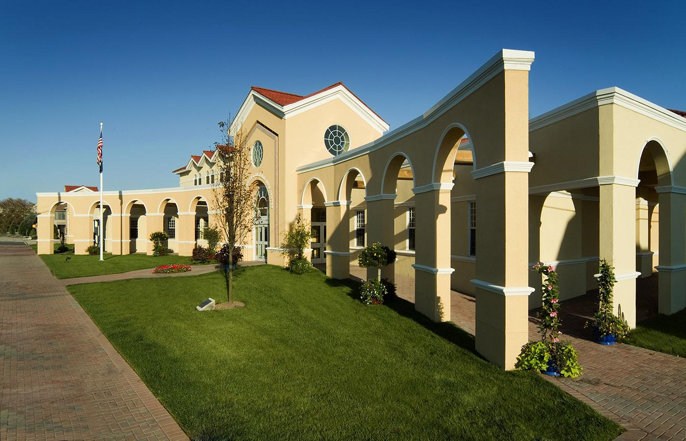 Ventnor Library & Cultural Arts Center exterior