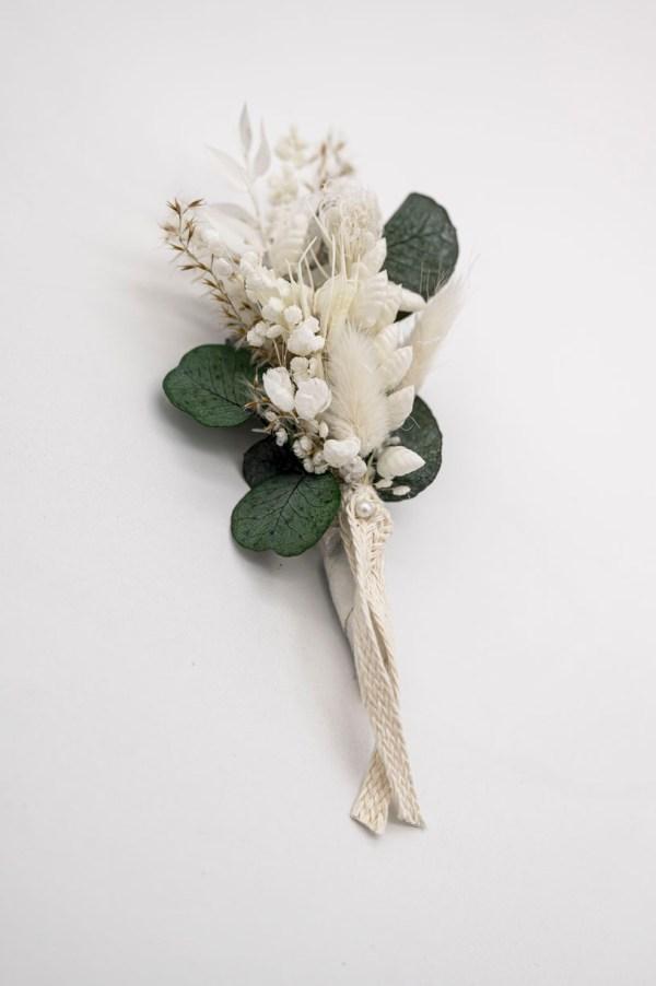 Anstecker Trockenblumen