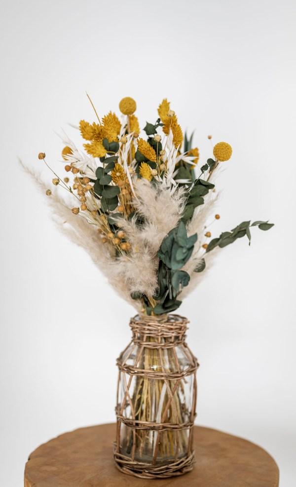 Trockenblumen-Strauß