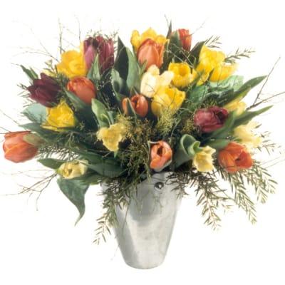 bunter Tulpenstraus - Blumen Bergmann
