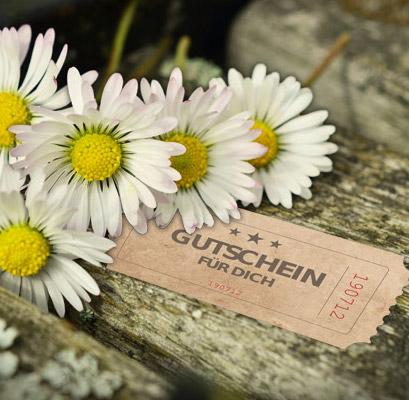 Gutschein - Blumen Bergmann